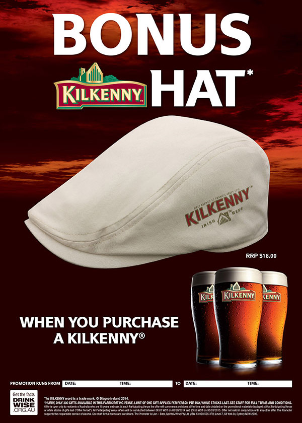 Promotional Products - Kilkenny Driver Cap