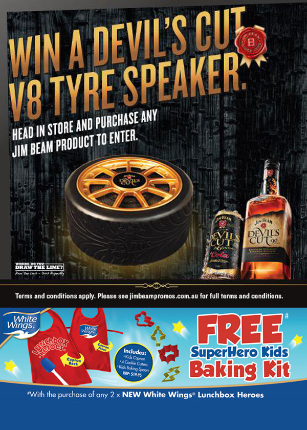 Innovative Products - Jim Beam Tyre Speaker
