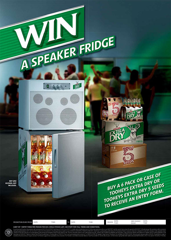 Consumer Promotions - TED Speaker Fridge