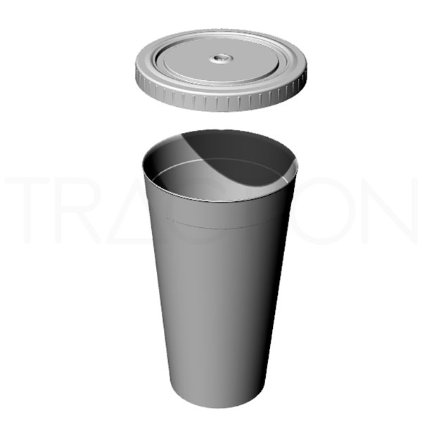 3D Render - Drinking Cup