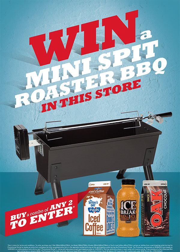 Win in Store - Oak Spit Grill