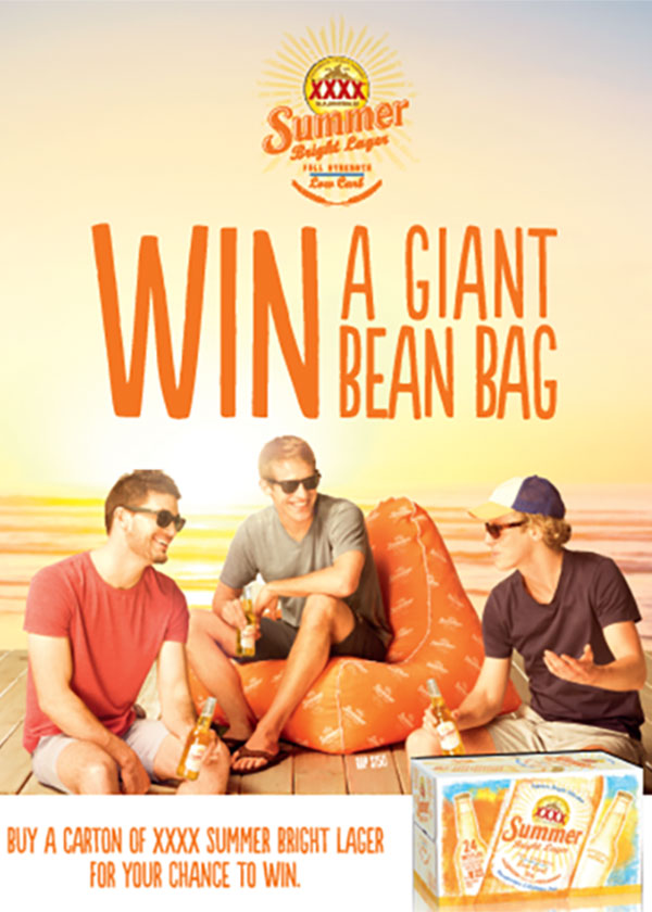 Shopper Marketing - XSBL Bean Bag