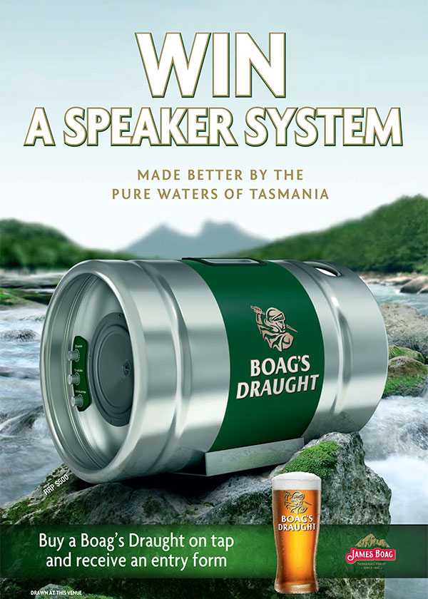 Innovative Products - Boags Barrel Speaker